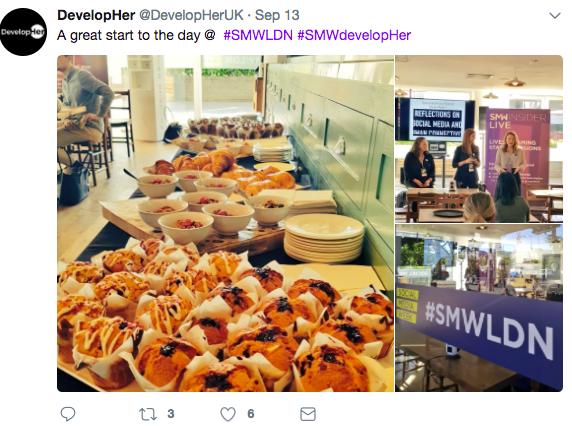 Social Media Week   DevelopingHer Networking Breakfast   iWeb