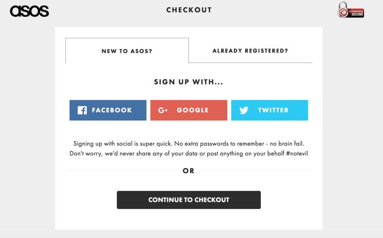 Social Logins | Magento Checkout