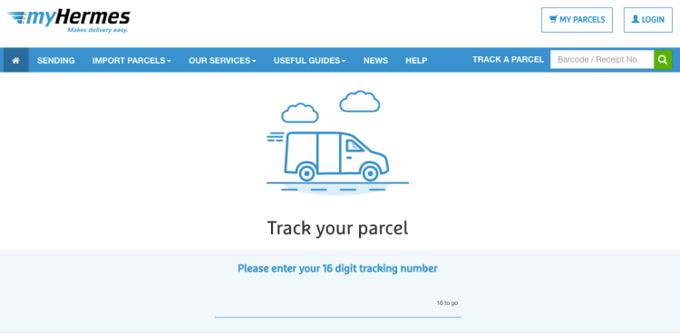 eCommerce Shipping Solutions   Hermes   iWeb