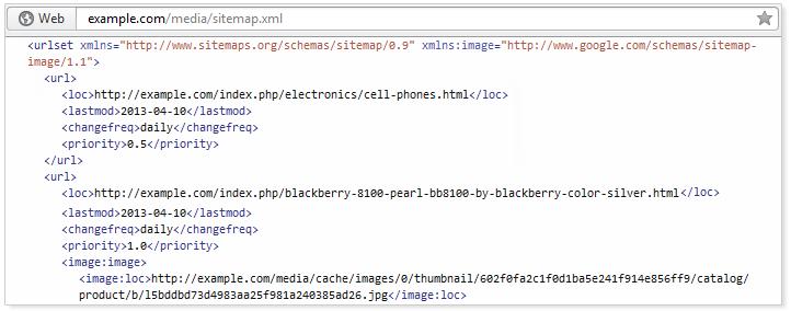 xml sitemap | magento seo extensions | iWeb