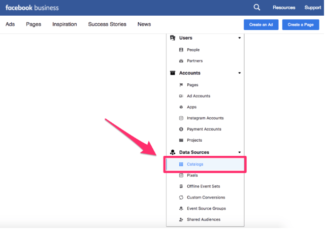 Facebook Product Catalogue Setup