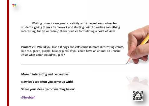 @iwebtefl Writing Prompts 20