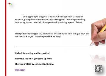 @iwebtefl Writing Prompts 22