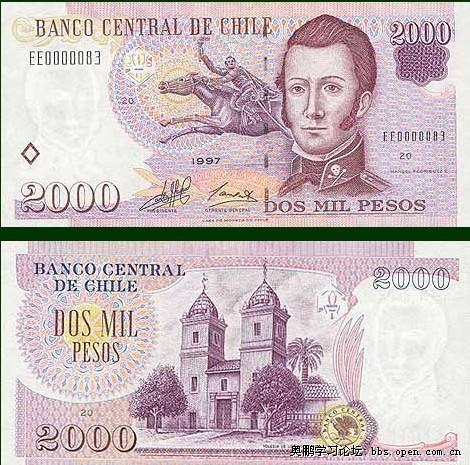 智利比索匯率 圖片 符號 【蜘蛛網:世界貨幣】