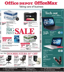 Office Depot  Office Max Weekly Ad January 21  January
