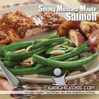 Smoky Mustard-Maple Salmon Recipe