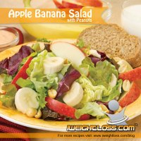 Apple Banana Salad Recipe