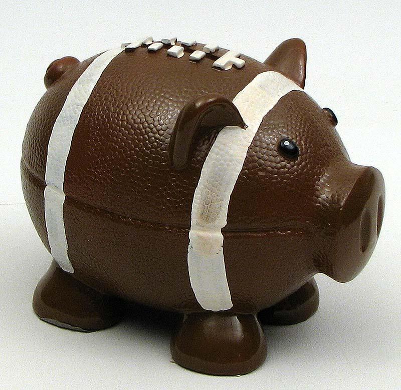 Pig Football Bank Wholesale Drop Ship