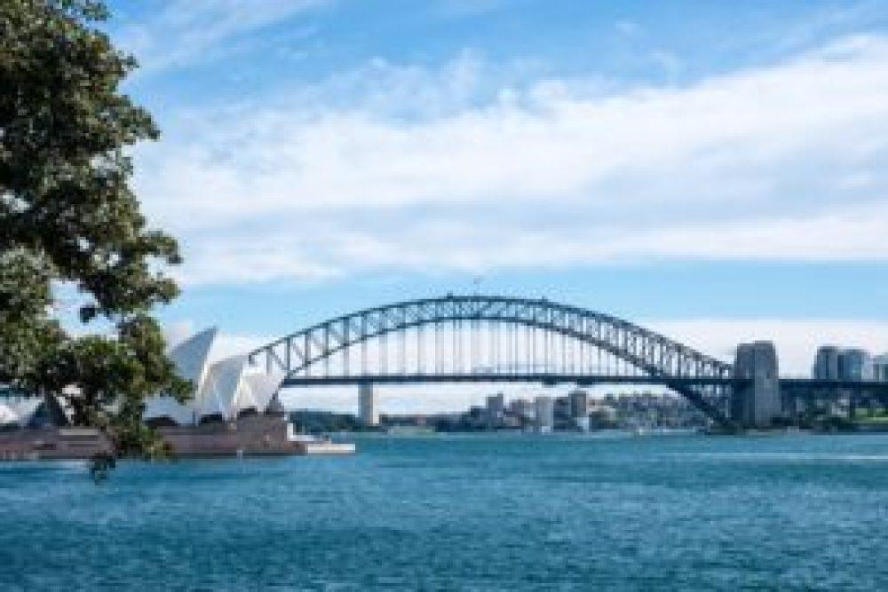 Opéra et Harbour bridge.