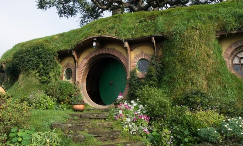 L'entrée de la maison de Bilbon Sacquet.