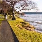 """Début de la """"Great Lake Walkway""""."""