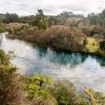 Vue sur la rivière Waikato depuis la walk.