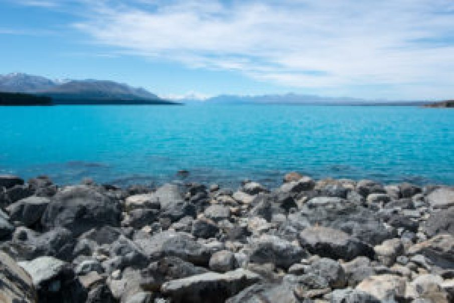 Lake Pukaki, so fascinating.