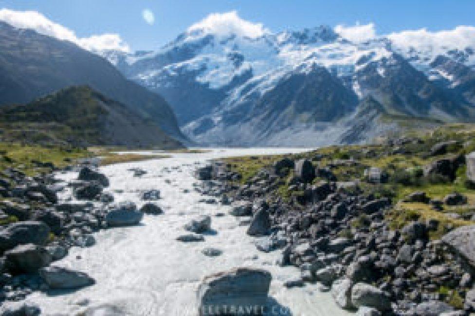 Mont Cook, mon endroit préféré en Nouvelle-Zélande.
