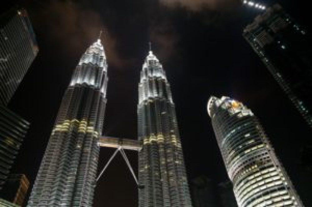 Les fameuses tours Petronas.
