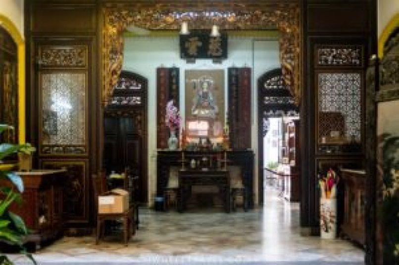 Le hall d'entrée du musée.