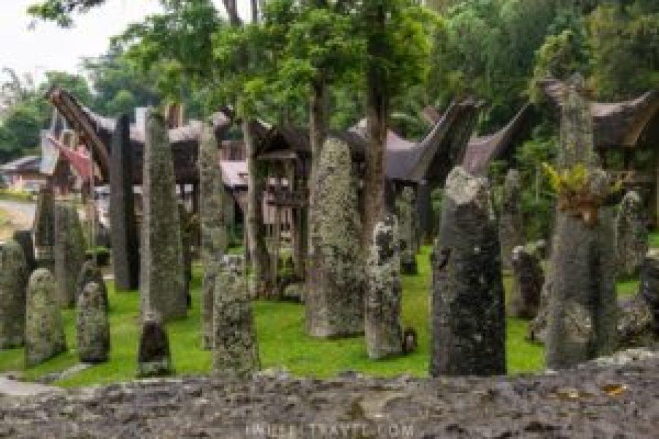 Les mégalithes de Bori' Kalimbuang.