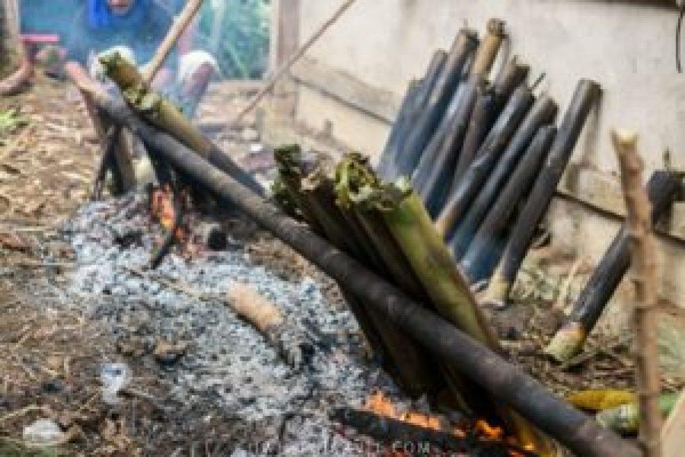 Cuisson du Pa'piong.