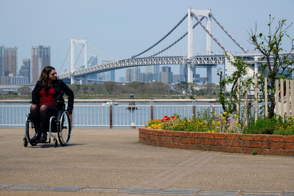 Discovering Odaiba in Tokyo.