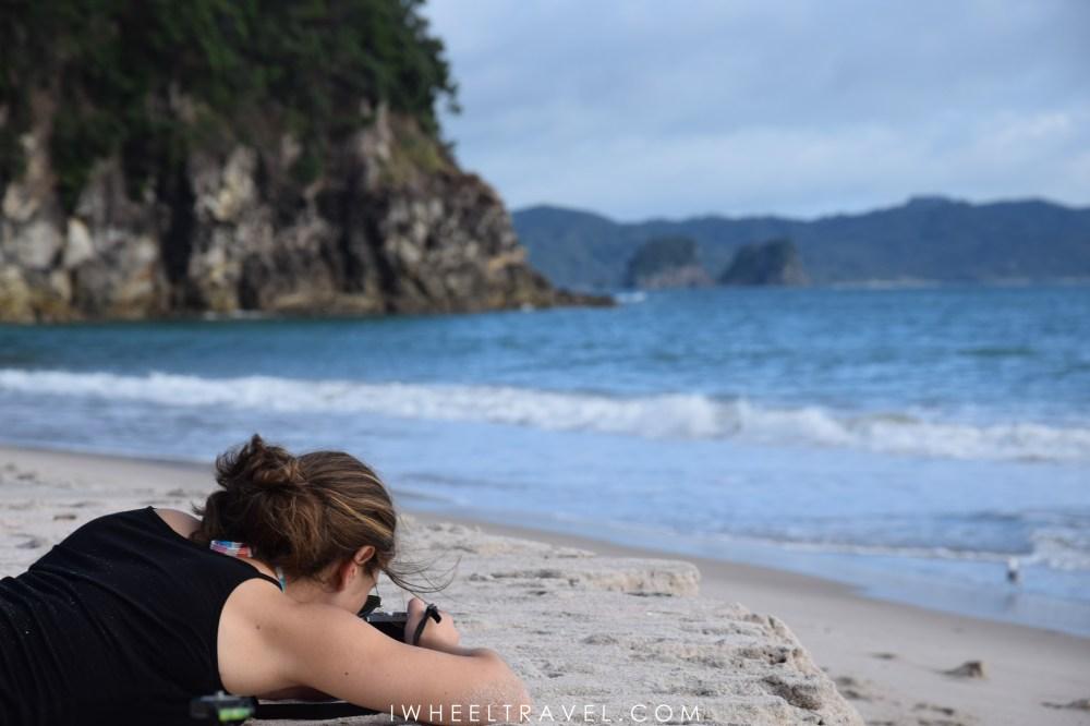 Dans la péninsule du Coromandel en Nouvelle-Zélande.