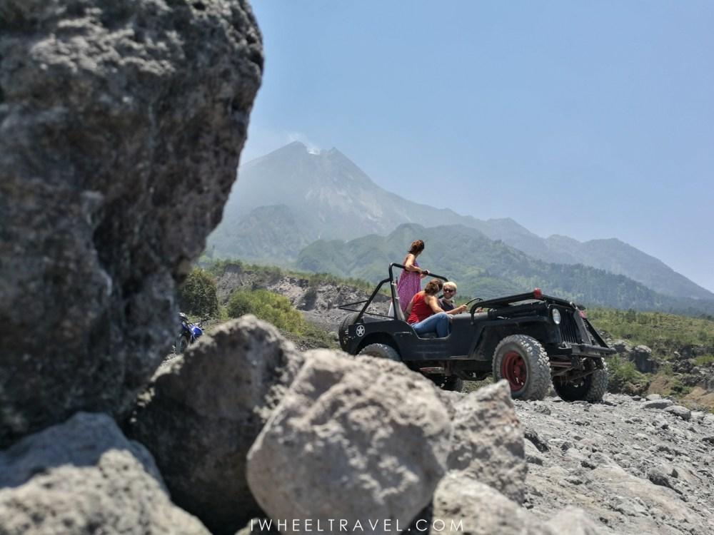 volcan merapi jeep