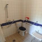 Salle de bain PMR, centre de montagne Germ