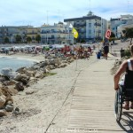 Otrante plage accessible fauteuil roulant