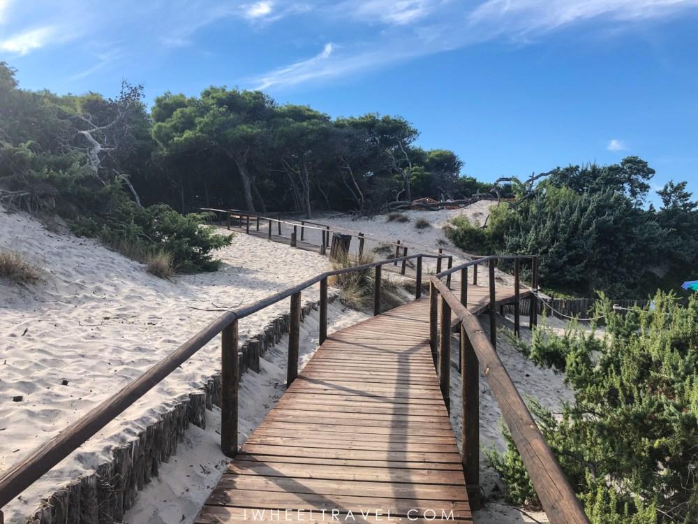 Torre dell'Orso plage accessible fauteuil roulant pouilles