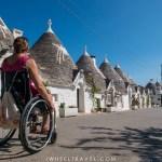 trulli alberobello fauteuil roulant