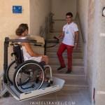 chateau Otrante fauteuil roulant