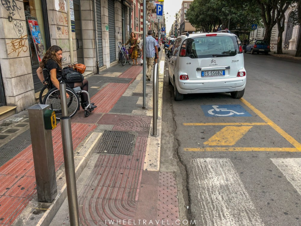 fauteuil roulant bari accessibilité
