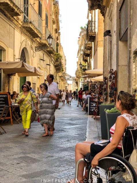 Lecce voyage handicap