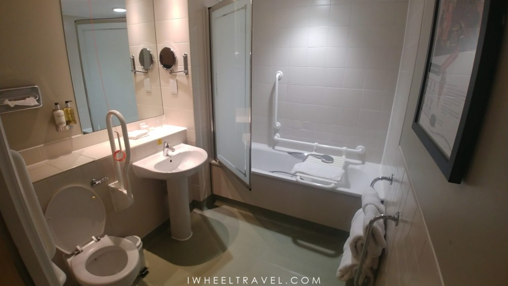 Mad Hatter Hotel London wheelchair accessible room