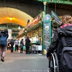 Borough market london wheelchair