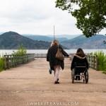 Lac du salagou fauteuil roulant