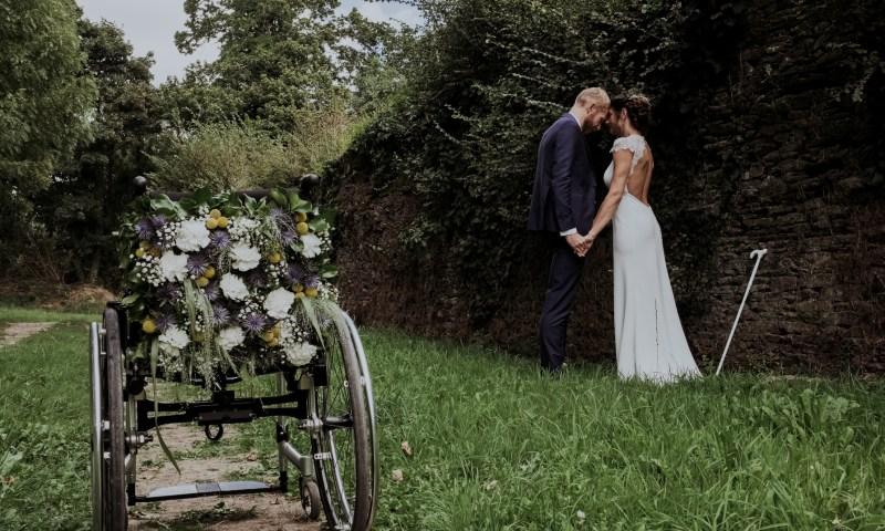 mariage en fauteuil roulant