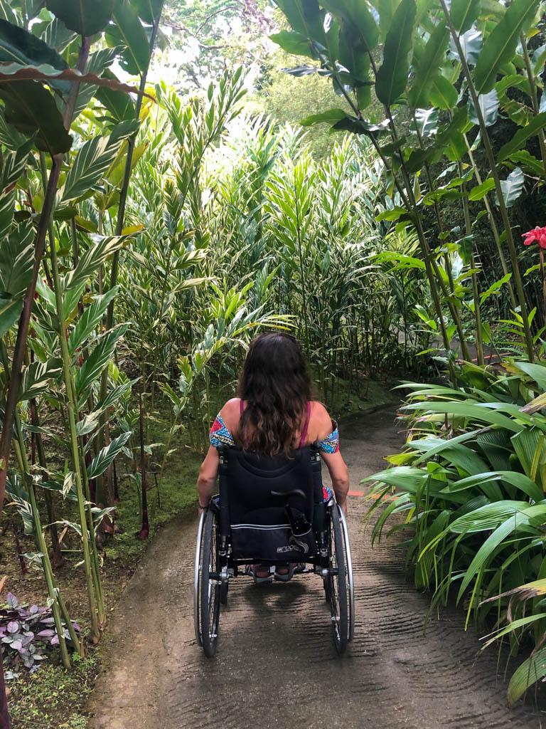 jardin balata fauteuil roulant
