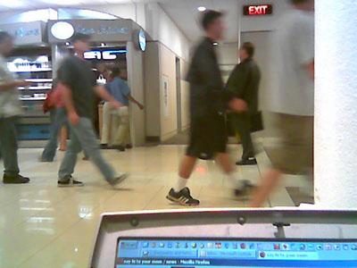 Atlanta Airport Gate B9