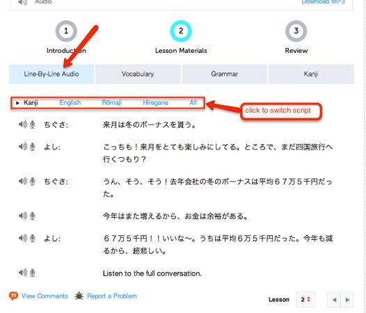 japanesepod101 review dialogue