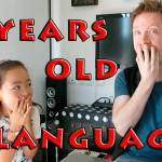 7 year old speaks 5 languages