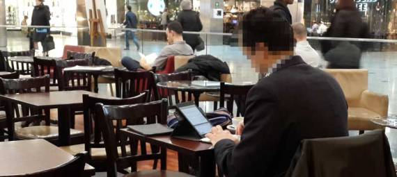 writing with ipad and keyboard