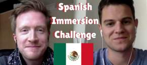Spanish Immersion Challenge olly richards jan van der aa