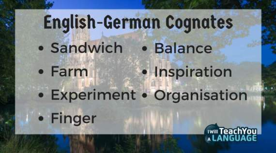 easy German cognates