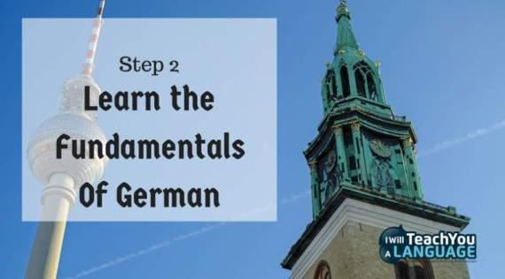 basic german learn the fundamentals