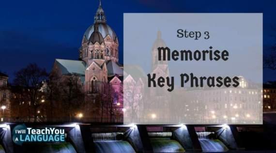Learn German Vocabulary Memorise Key Phrases