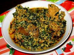 Mixed Vegetable Egusi Soup