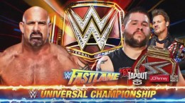 Kevin Owens vs Goldberg