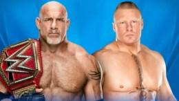 WWE Wrestlemania 33 Predictions - Brock Lesnar vs Goldberg