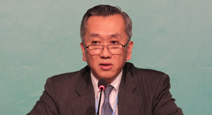 Hiroshi Minami, Japan's Ambassador for Civil Society and Deputy Director-General of Global Issues. (IWN photos)