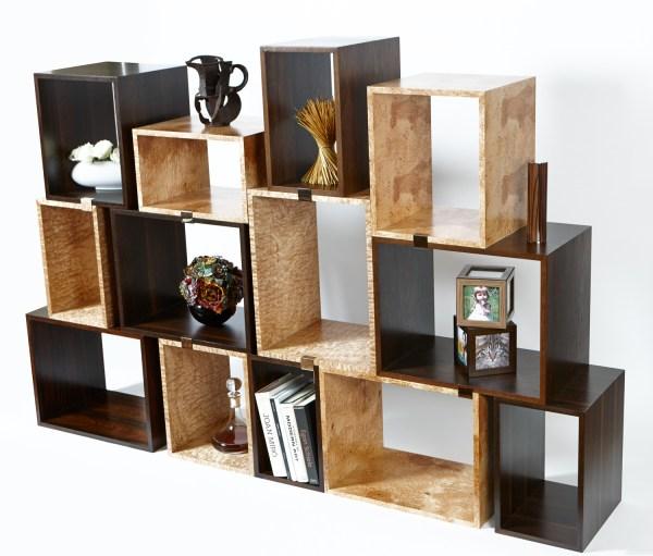 Wood Modular Shelving Units